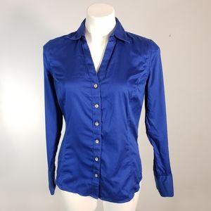 Calvin Klein No Iron Long Sleeve Button Down Shirt
